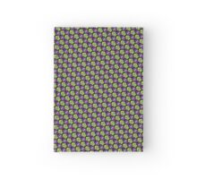 Tessellating Squid - Lime and Purple Hardcover Journal