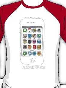 Phone illustration T-Shirt