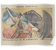 Crédit Lyonnais Souscrivez au 4e Emprunt National 1 Poster