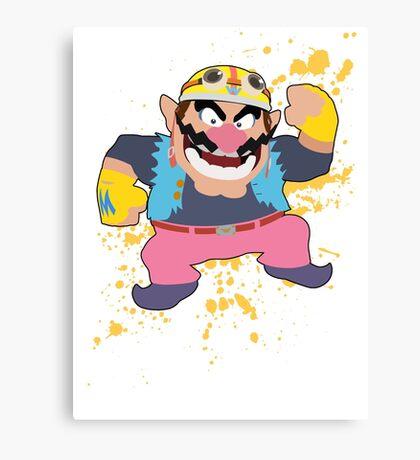 Wario - Super Smash Bros Canvas Print