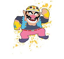 Wario - Super Smash Bros Photographic Print