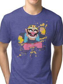 Wario - Super Smash Bros Tri-blend T-Shirt