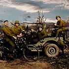 Woody's Jeep Crew by Larry Oates