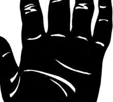 Workers Hand Sticker