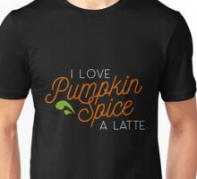 Punkin Spice is my life (half and half) Unisex T-Shirt