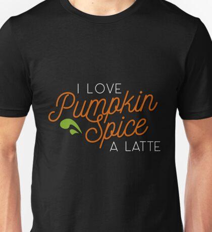 Punkin Spice is my life (half and half) Unisex T-Shirt