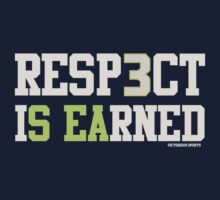 "VICT Seattle ""Resp3ct Is Earned""  T-Shirt"