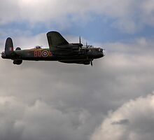 The Lancaster Bomber at Wings and Wheels by Shane Ransom