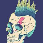 Skull Punk by victorsbeard