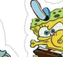 Spongebob and Squidward!  Sticker