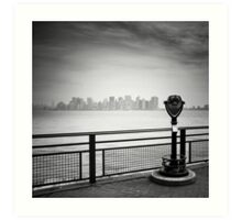 NYC: Manhattan View Art Print