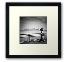 NYC: Manhattan View Framed Print
