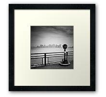 NYC: Manhattan View Framed Print