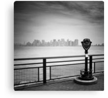 NYC: Manhattan View Canvas Print