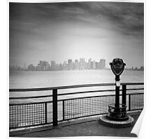 NYC: Manhattan View Poster