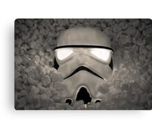 The Empire Pays Peanuts Canvas Print