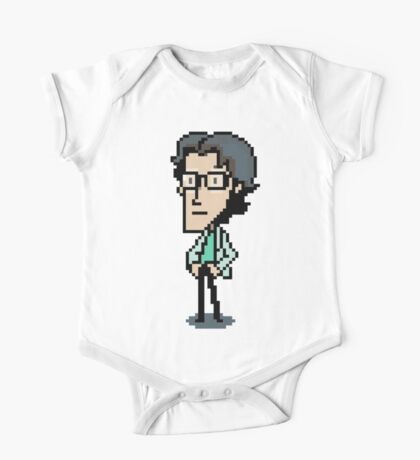 Otacon Sprite - Metal Gear Solid 2 / Sons of Liberty One Piece - Short Sleeve