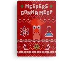 Meepers Gonna Meep - Ugly Christmas Metal Print