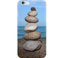 Stacked Pebbles 02 iPhone Case/Skin