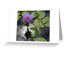 Earth and Heaven Reflections Greeting Card