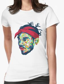 Kendrick Lamar/Tupac Womens Fitted T-Shirt