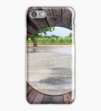Vineyards from the Bottom of the Barrel iPhone Case/Skin