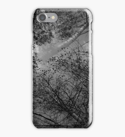 Trees /bw/ iPhone Case/Skin