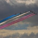 The Red Arrows Enter the Show by Shane Ransom