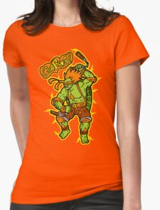 TMNT Fanboy Womens Fitted T-Shirt