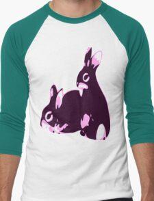 ★♥ټAdorable Pink-Black Bunnies Clothing & Stickersټ♥★ T-Shirt