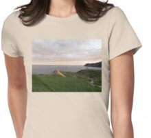 Evening hike in St. Anthony Womens Fitted T-Shirt