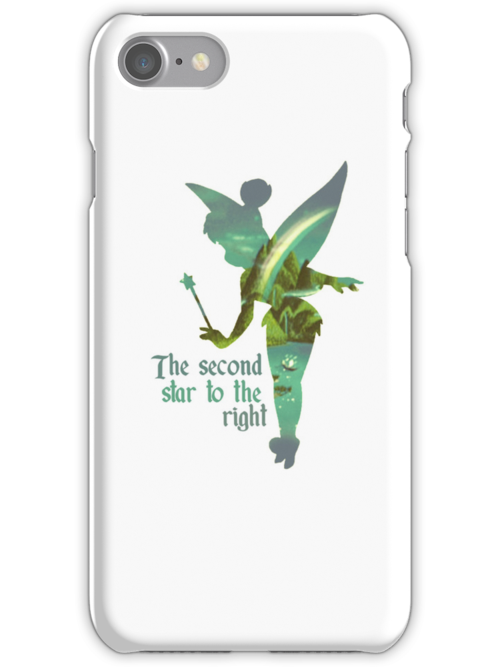 Tinkerbell Silhouette by MargaHG