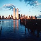 A New York Sunset 1978 by Kellice