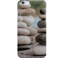 Stacked Pebbles 03 iPhone Case/Skin