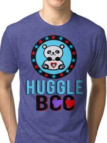 ♥ټSuper Cute Panda HuggleBoo Clothing & Stickersټ ♥ Tri-blend T-Shirt