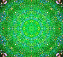Spiritual Heart Mandala by haymelter