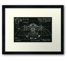 Bioshock Infinite Vetrubian Framed Print