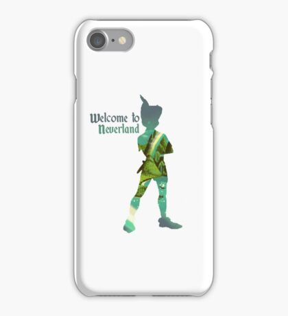 Welcome to Neverland iPhone Case/Skin