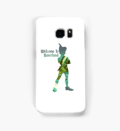 Welcome to Neverland Samsung Galaxy Case/Skin