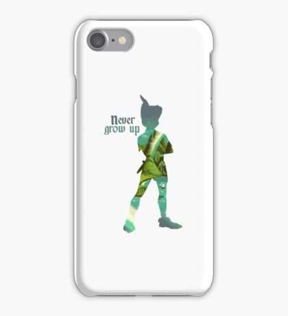 Never Grow Up - Neverland iPhone Case/Skin