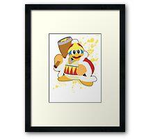 King Dedede - Super Smash Bros Framed Print