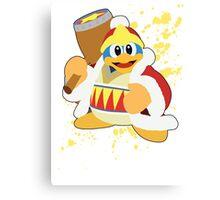 King Dedede - Super Smash Bros Canvas Print