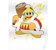 King Dedede - Super Smash Bros Poster
