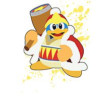 King Dedede - Super Smash Bros Photographic Print