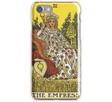 Tarot Card - The Empress iPhone Case/Skin