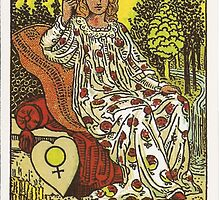 Tarot Card - The Empress by TexasBarFight