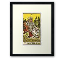 Tarot Card - The Empress Framed Print