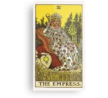 Tarot Card - The Empress Metal Print