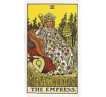 Tarot Card - The Empress Photographic Print