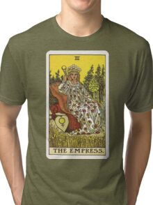 Tarot Card - The Empress Tri-blend T-Shirt